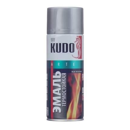 Эмаль АВТОМАГ KU5001 термостойкая серебристая 520 мл
