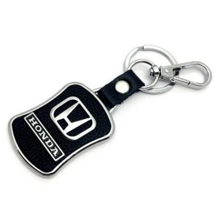 Брелок Mashinokom с логотипом Хонда BMK 008 металл-кожа