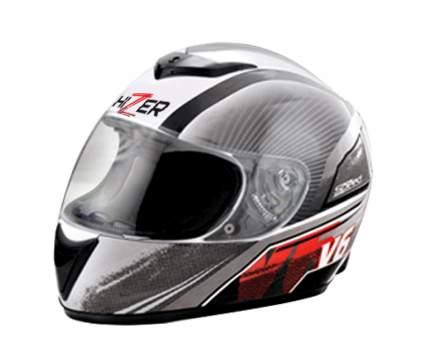 Шлем HIZER 522 white-speed, размер M