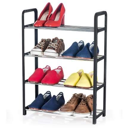 Полка для обуви Artmoon BANFF 699904 50х20х68 см, нержавеющая сталь/черный