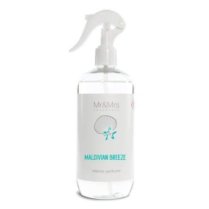 Интерьерные духи-спрей Mr&Mrs Fragrance Blanc аромат №15 Мальдивский бриз