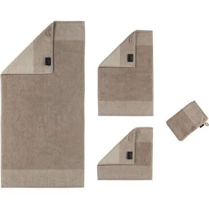 Полотенце CAWO TWO-TONE 50x100см, цвет песочный
