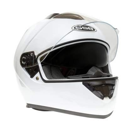 Шлем GSB G-350 WHITE GLOSSY, размер L