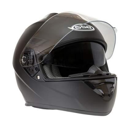 Шлем GSB G-350 BLACK MATT, размер L