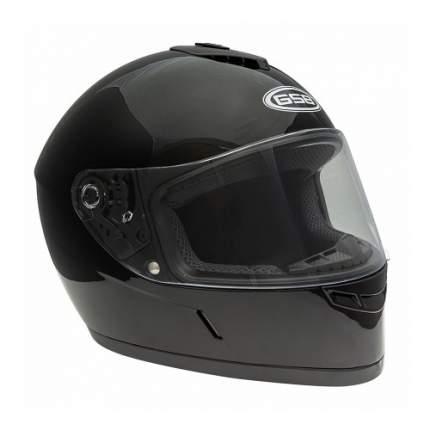 Шлем GSB G-349 Black Glossy, размер 2XL