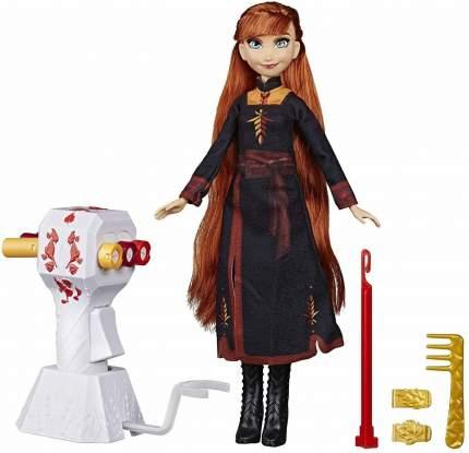 Кукла Frozen Анна Холодное сердце 2 с аксессуарами для волос