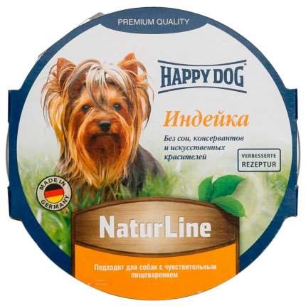 Консервы для собак Happy Dog NaturLine, паштет с индейкой, 11шт по 85г
