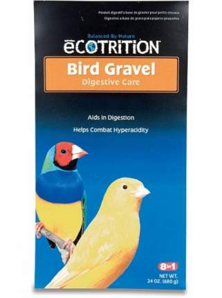 Гравий для канареек и амадин 8in1 Bird Gravel, мелкий, для заполнения зоба, 680г