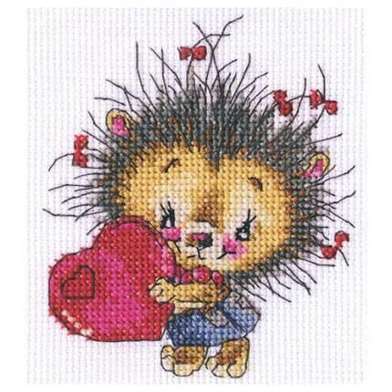 Набор для вышивания Доброе сердечко 12 х 13 см арт. С215 RTO