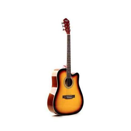 Гитара акустическая со встроенным эквалайзером Caravan Music Hs-4111sb Eq
