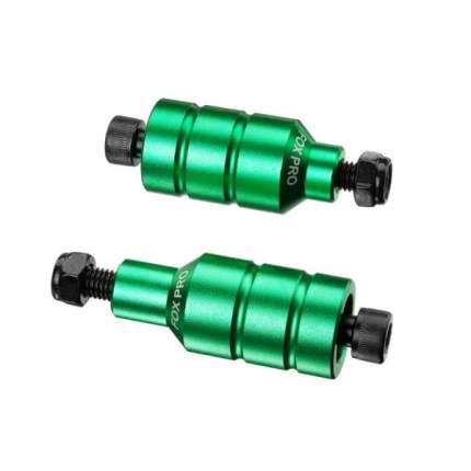 Пеги Fox Pro модель B передняя+ задняя Зеленые