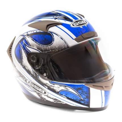 Шлем GSB G-335 Mobilita Azzurro, размер S