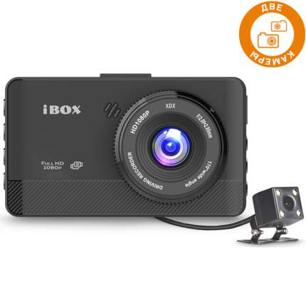 Видеорегистратор iBOX XRoad Dual + Камера заднего вида
