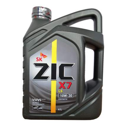 Моторное масло Zic X7 LS 10W-30 4л