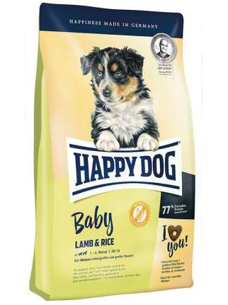 Сухой корм для щенков Happy Dog Baby, все породы, ягненок и рис, 18кг