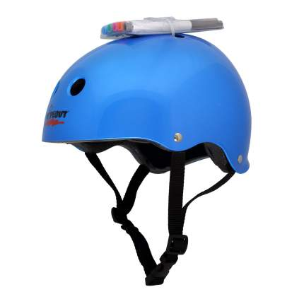 Шлем защитный с фломастерами Wipeout L 8+ цв.синий