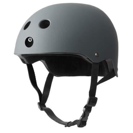 Шлем защитный Eight Ball серый 14+