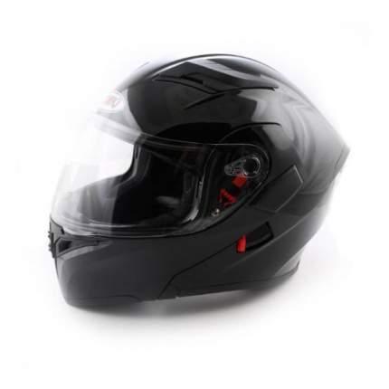 Шлем (модуляр) Ataki FF902 Solid черный глянцевый, размер S