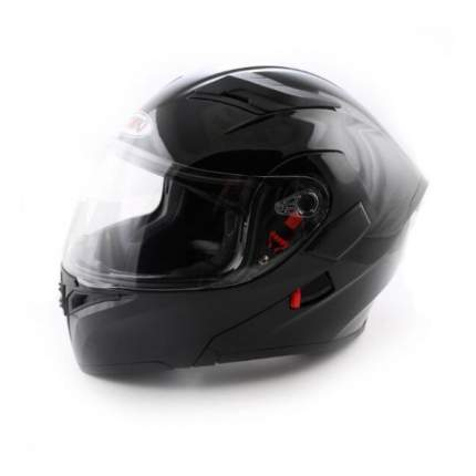 Шлем (модуляр) Ataki FF902 Solid черный глянцевый, размер M
