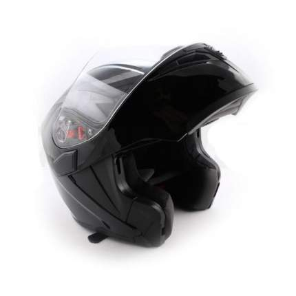 Шлем (модуляр) Ataki FF902 Solid черный глянцевый, размер L