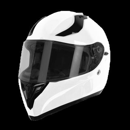 Шлем (интеграл) Origine STRADA Solid белый глянцевый, размер L