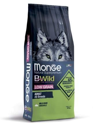 Сухой корм для собак Monge Dog BWild Low Grain низкозерновой из мяса дикого кабана  12кг