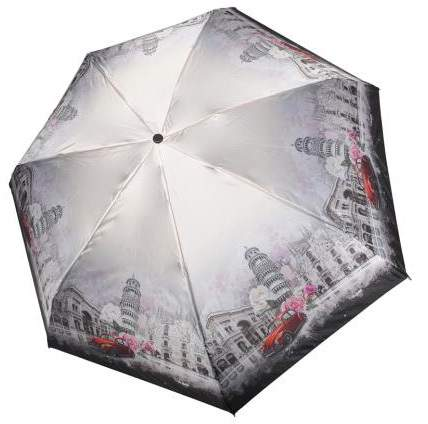 Зонт женский Три Слона 292-I-06 серый