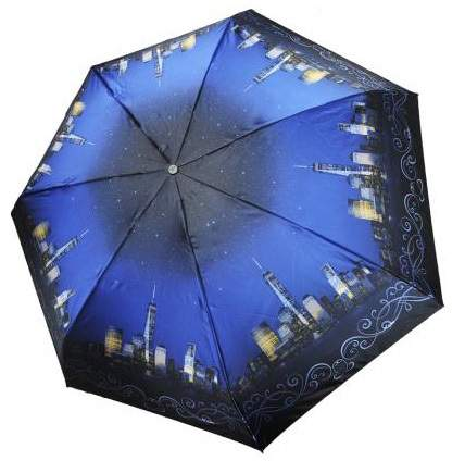Зонт женский Три Слона 292-I-04 синий