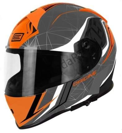 Шлем (интеграл) Origine GT Raider серый/черный/оранжевый, размер L