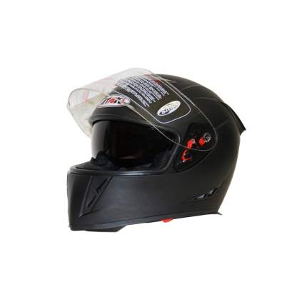 Шлем (интеграл) Ataki FF311 Solid черный матовый, размер XL
