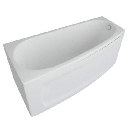Акриловая ванна угловая Aquatek Пандора L, асимметричная, 160 см