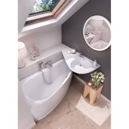 Акриловая ванна угловая Ravak Avocado L 160 см, асимметричная