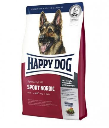 Сухой корм для собак Happy Dog Supreme Fit&Well Sport Adult, птица, 15кг