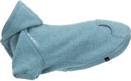 Попона для собак TRIXIE BE NORDIC. Flensburg, унисекс, голубой,  длина спины 36 см