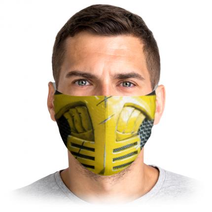 Многоразовая защитная маска Printio Скорпион 2 3265135 1 шт.