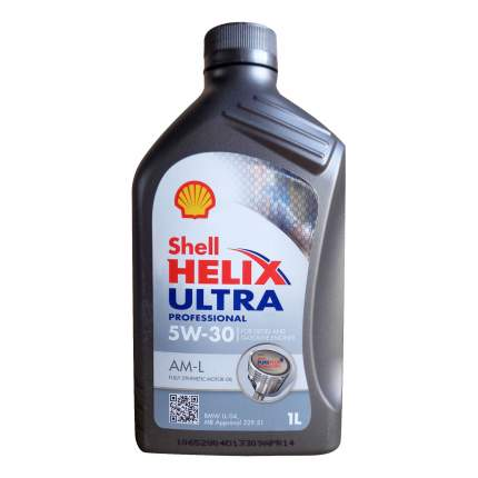 Моторное масло Shell Helix Ultra Professional AM-L SAE 5W-30 1л