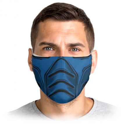 Многоразовая защитная маска Printio Саб-зиро 3253454 1 шт.