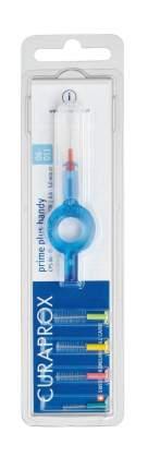 """Набор Curaprox Prime """"PLUS: Ершик межзубный 0,6 мм (5 шт) + UHS 409 держатель CPS 06"""""""