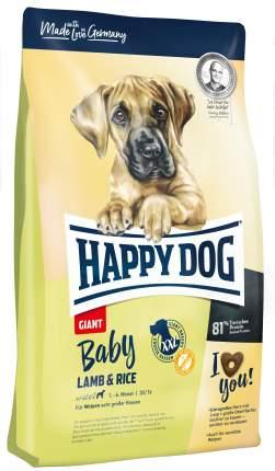 Сухой корм для щенков Happy Dog Baby Giant, для гигантских пород, ягненок с рисом, 15кг