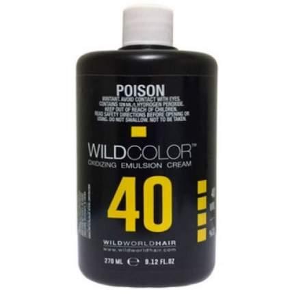 Крем-эмульсия окисляющая для краски Wild Color 12% OXI40 Vol. 270 мл