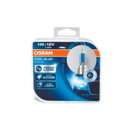 Лампа 12V H8 35W PGJ19-2 4200K OSRAM COOL BLUE INTENSE 2 шт. DUOBOX 64212CBI-HCB