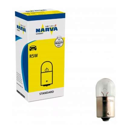 NARVA 17171 Лампа накаливания R5W 12V 5W (BA15s)