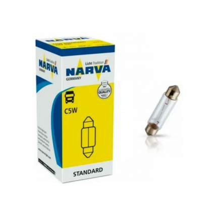 NARVA 17125 Лампа накаливания C5W 12V 5W (sv8,5)