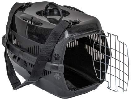 Переноска для животных Дарэлл ZooM Спутник-1, 43x29x27.5см черный