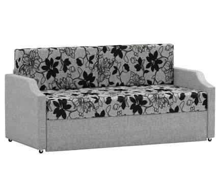 Кушетка Шарм-Дизайн Малыш шенилл серый цветы