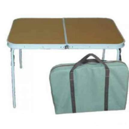 Туристический стол со стульями Смаз Автотурист коричневый