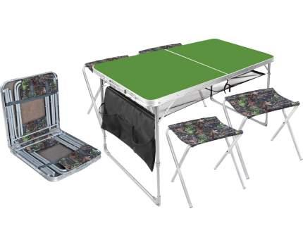 Туристический стол со стульями Nika ССТ-К3/6 дубовые листья