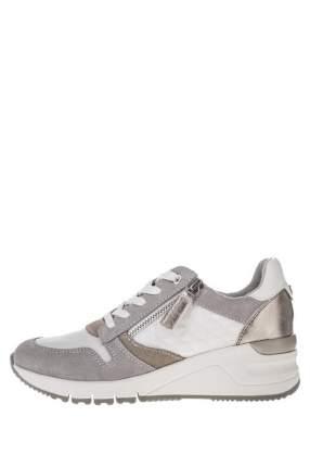 Кроссовки женские Tamaris 1-1-23702-24 белые/серые 39 DE