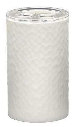 Стаканчик для зубной щётки Crimp белый