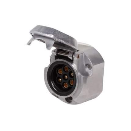 Розетка фаркопа 7 контактов металл AIRLINE ATE-05
